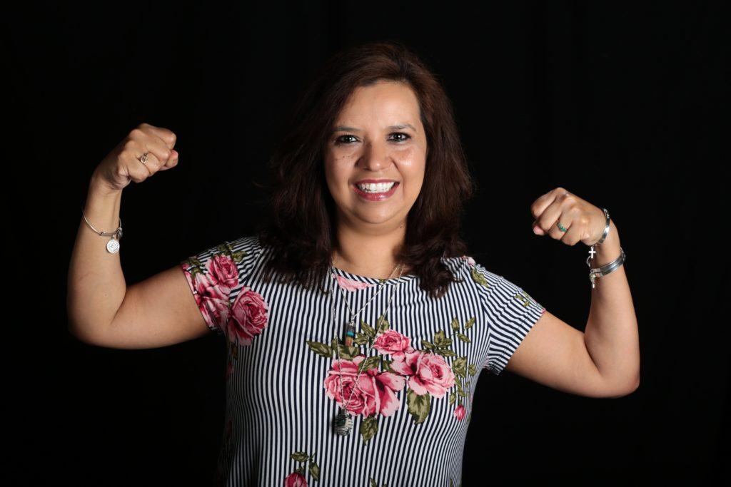 Patricia Lopez standing